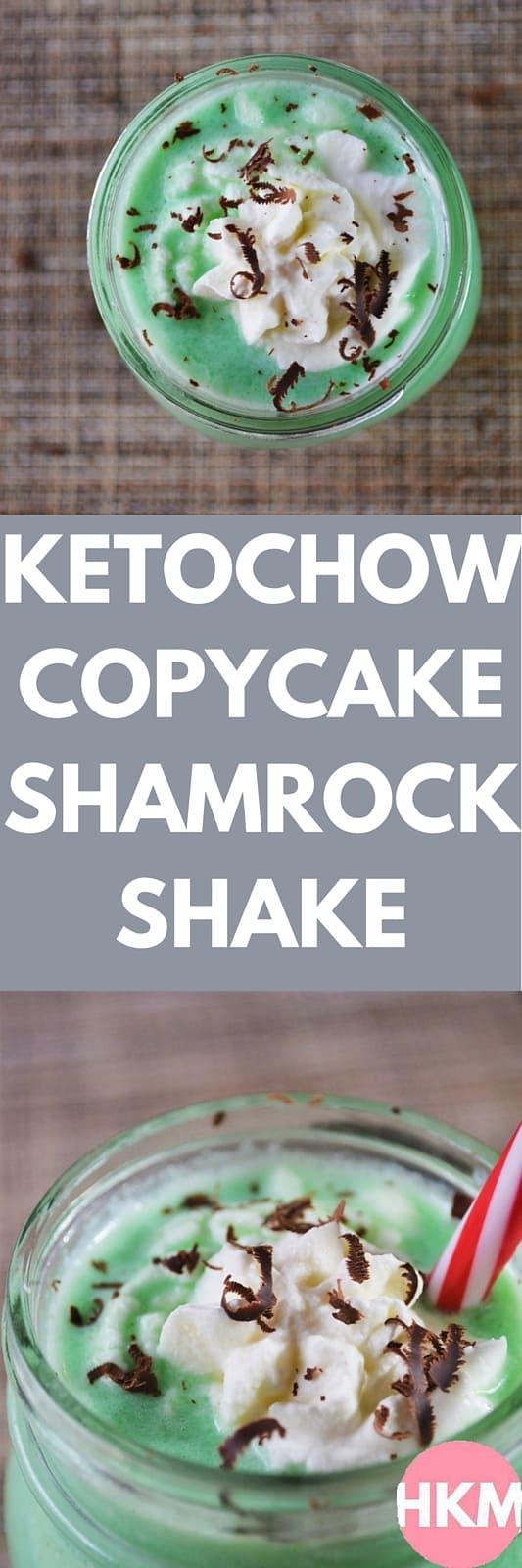 Keto Chow Copycat Shamrock Shake | heyketomama.com