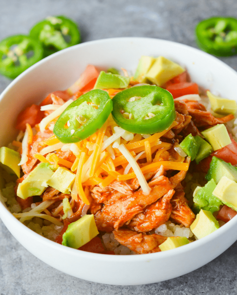 Keto chicken enchilada bowl hey keto mama this keto chicken enchilada bowl is a low carb twist on a mexican favorite its forumfinder Gallery
