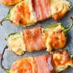 Bacon Wrapped BBQ Jalapeno Poppers
