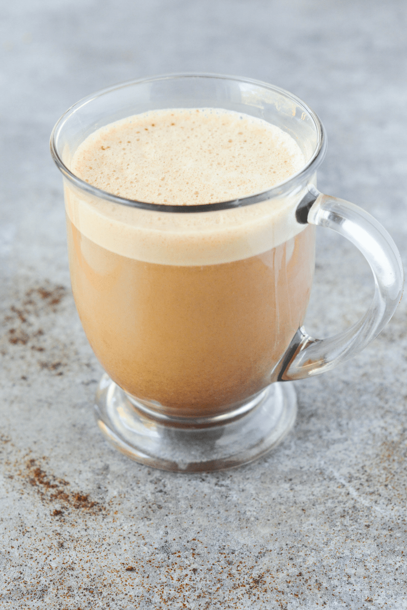 This easy keto protein coffee is the perfect way to start your mornings with healthy fat and yummy flavor! | heyketomama.com
