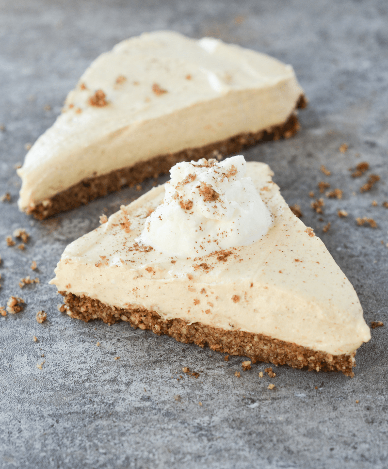 Keto Pumpkin Cheesecake is always the answer, no matter the question. Check out this easy recipe to make a Fall favorite low carb style!
