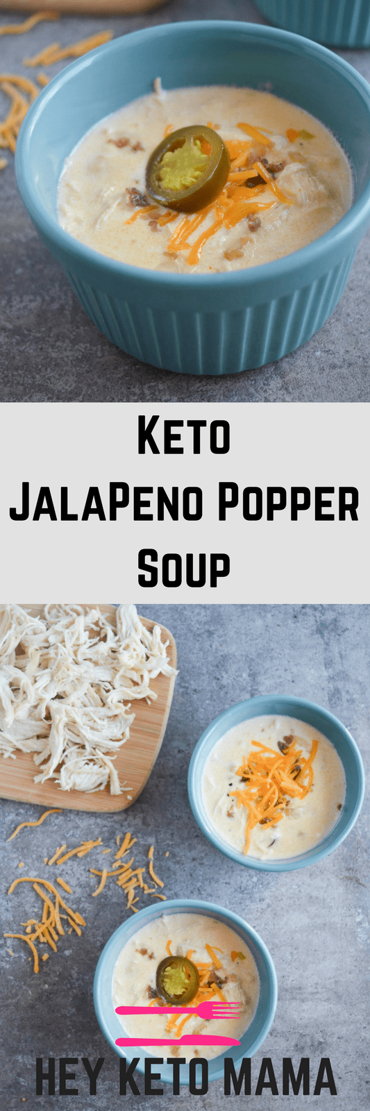 This Keto Jalapeno Popper Soup will soon become your family's favorite low carb comfort food. It's packed with savory flavor and just the right amount of kick. Be sure to make at least a double batch for leftovers!
