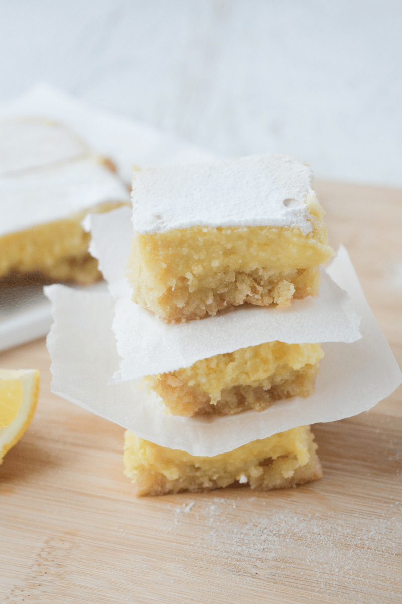 Keto Lemon Bars - Hey Keto Mama