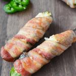 Keto Spicy Artichoke Dip Jalapeno Poppers