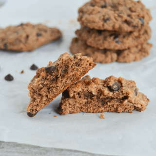 These Keto Chocolate Chip Pecan and Coconut Cookies are any low carb cookie lover's dream! They have the classic look and taste of your favorite homemade cookie, all with only 2.4g net carbs per cookie! | heyketomama.com