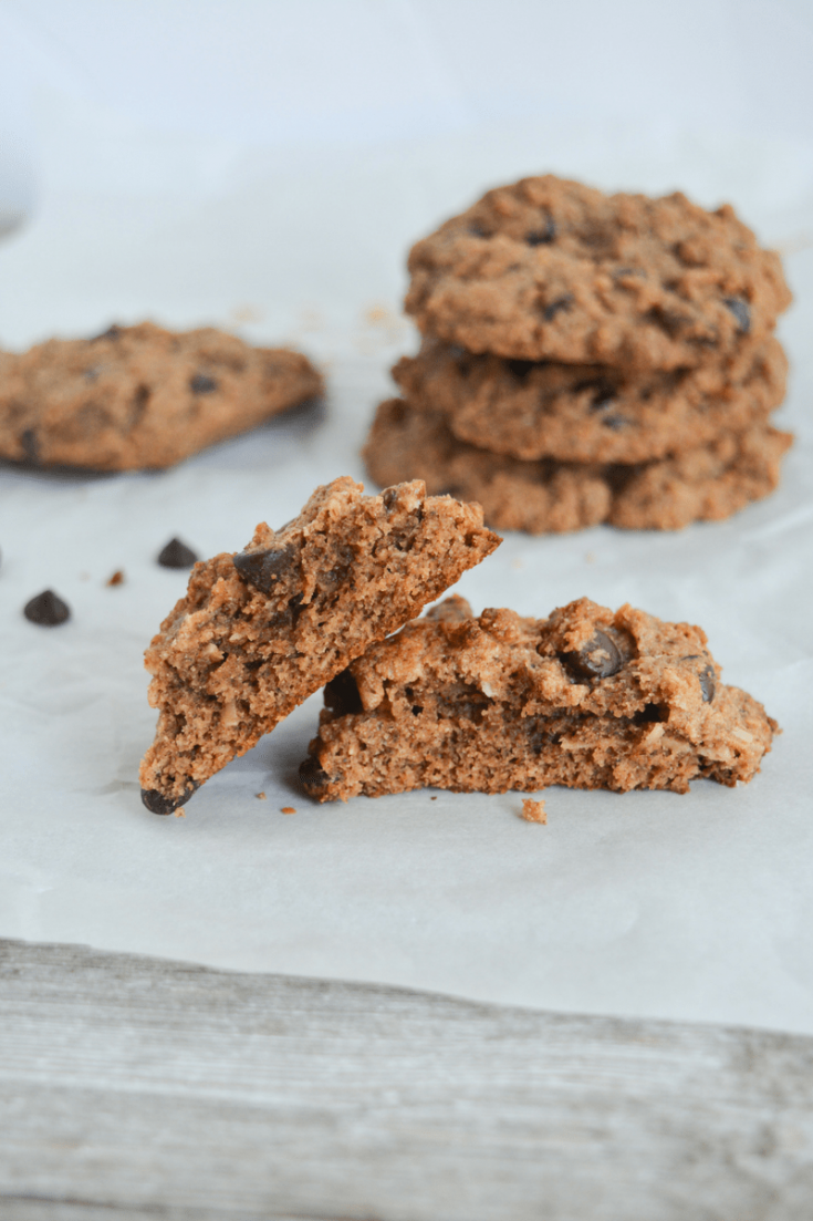 Keto Chocolate Chip Pecan and Coconut Cookies