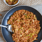 This Keto Cheeseburger Helper is a nostalgic meal with more nutrients and fewer carbs than the classic favorite. My family gobbled it up as quickly as I made it!   heyketomama.com