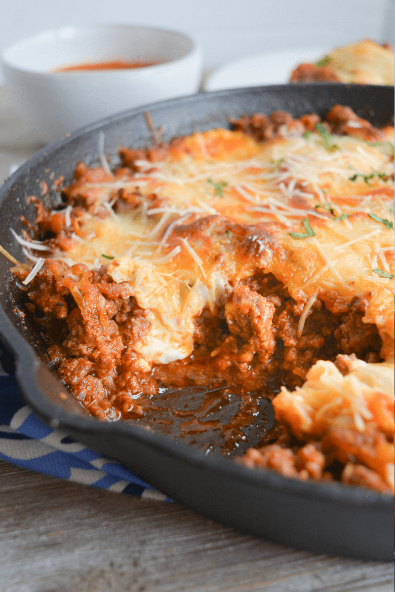 Easy Keto Lasagna Bake Ditch The Noodles Hey Keto Mama