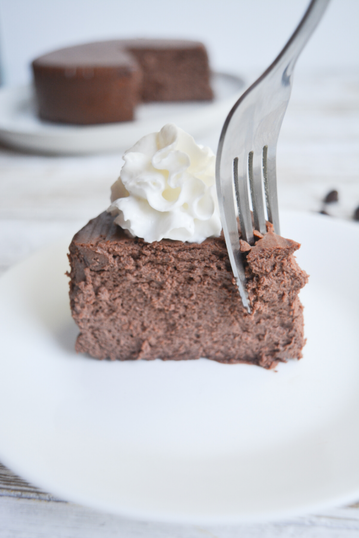 Keto Instant Pot Chocolate Cheesecake